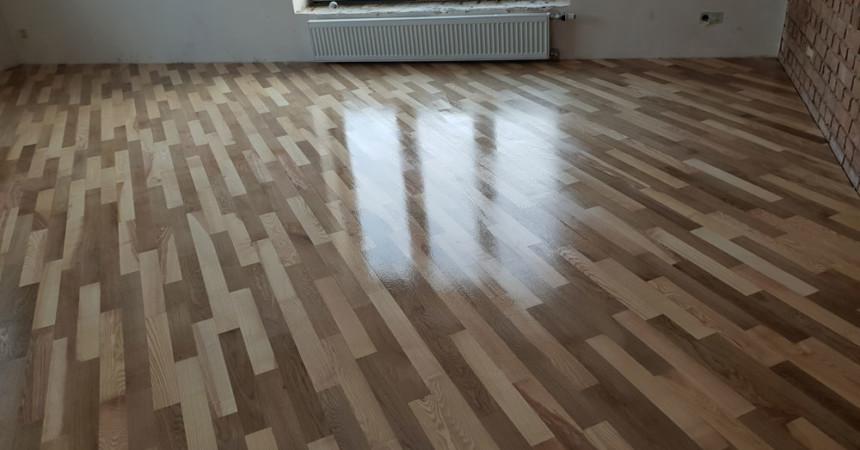 Циклювання підлоги в домашніх умовах