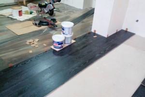Галерея Укладання вінілової підлоги